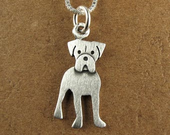 Boxer necklace / pendant