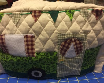 Camper toaster cover Custom Colors available-2 slice or 4 slice
