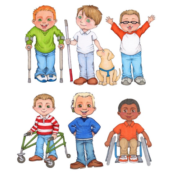 special needs digital clip art rh etsy com special needs assistant clipart Speech Clip Art