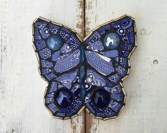 Butterfly Mosaic by Summerhousestudio32