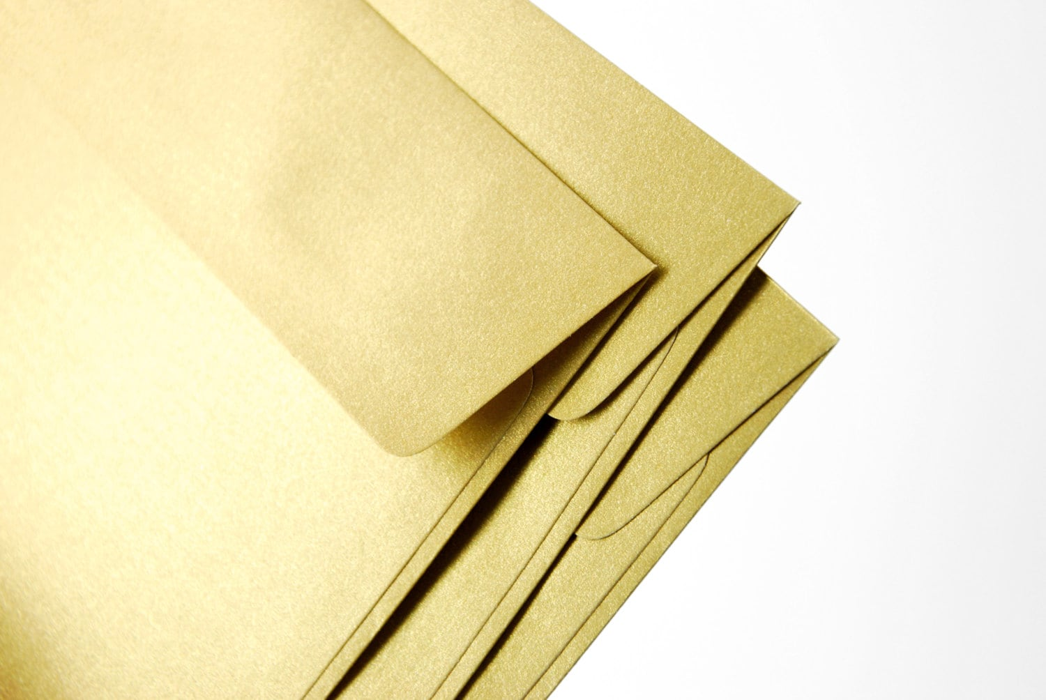 A7 5x7 Gold Envelopes Perfect for 5x7 wedding
