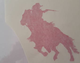 Mounted Shooter Decal
