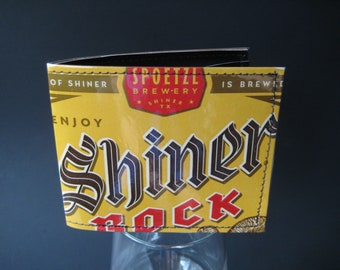 Shiner Bock Beer Wallet