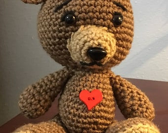 Here's My Heart Teddy Bear