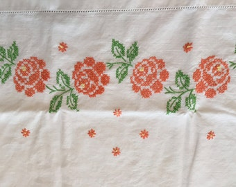Embroidered Pillowcase Standard Size
