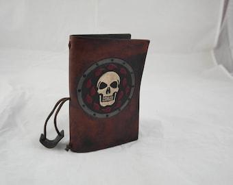 Baldur's Gate leather reusable A6 notebook