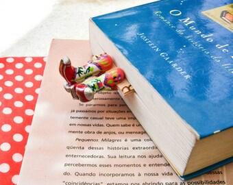 CowGirl Boots BookMark - Handmade