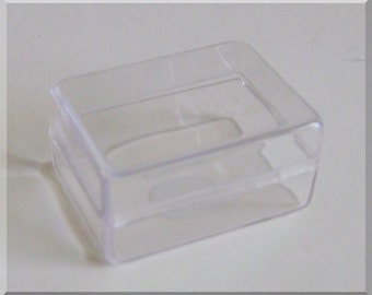 """24 Acrylic Clear Display Boxes (1 1/2"""" x 1 1/8"""" x 3/4"""") *Great For Displays*"""