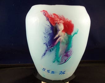Red Haired Can-Can Dancer Candle