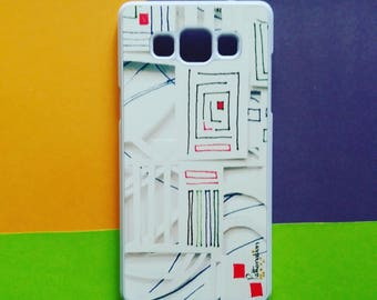 Sketchbook Pattern 2. Phone Cover to fit IPhones, Androids and many more.