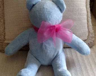 Homemade, Power Blue, Soft and Cuddly, Kid's Bear