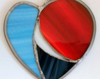 Heart 1 - Stained Glass