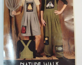 Indygo Junction Pattern IJ608 Jumpsuit Nature Walk 1999 NIP