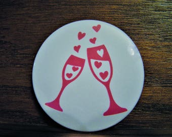 Champagne of Hearts Magnet