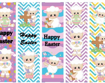 Easter Lambs Book Marks