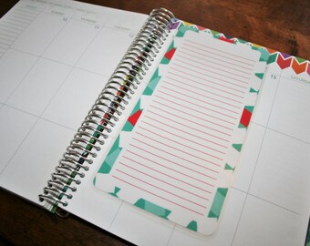 Dashboard (Size B), Coil Clip In, Laminated, Double Sided  / Erin Condren Life Planner, Limelife, Plum Paper (B03)