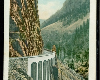 Yellowstone National Park Golden Gate Antique Undivided Back Postcard Unused 1902