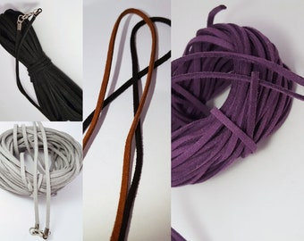 Suede Cord Necklace Choice