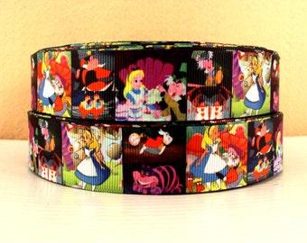 5 YDS Alice In Wonderland Ribbon