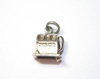 Vintage Slot Machine Charm - Jewelry Supplies - Necklace Charm - Bracelet Charm