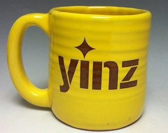 Yinz Pittsburghese Coffee Mug Handmade in Pittsburgh by Local Yinzer Artists