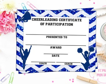 Cheerleading certificate cheerleading award cheerleading cheerleading certificate cheerleading award cheerleading diy cheerleading printable cheerleading achievement end yadclub Images