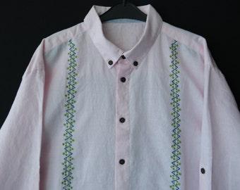 FINAl SALE!!! Men's hand painted shirt