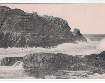"Maine, Vintage Postcard, ""Bald Head Cliff, Ogunquit, Maine,"" 1945, #1304,  Photo"