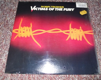 Robin Trower VIctims of the Fury Still in Shrink Vinyl Record LP