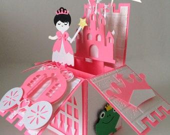 Princess Castle Card In A Box