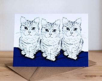 Rosie Cat Card