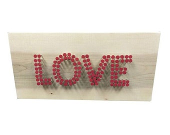Love Nail Sign
