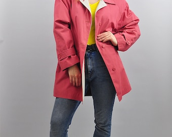 Vintage '90s Short Pink Danimac Mac