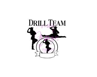 drill svg etsy rh etsy com equestrian drill team clipart dance drill team clipart
