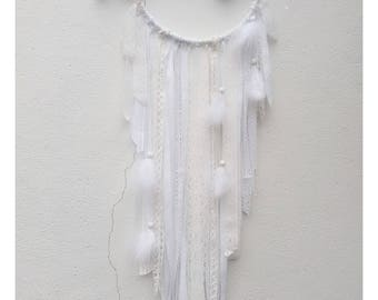 Dream catcher white Driftwood