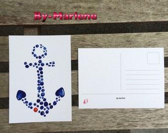Post card • anchor •