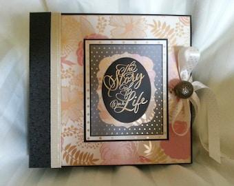 Floral Wedding Mini album - Pdf Tutorial