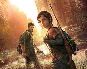 The Last of Us Joel and Ellie Poster