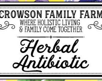 Herbal Antibiotic Salve