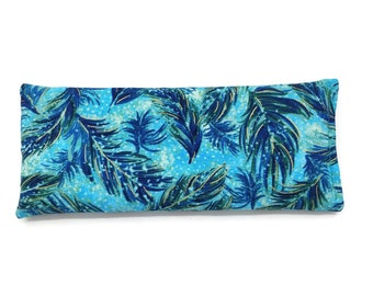 Eye Heat/Cold Pack / bag- Shimmer Feathers / Lupin Filled (25cm x 10cm)