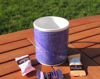 Mug céramique blanc motif kaléïdoscope, géométrique, tasse à café, tasse à thé, coffee, tea, kaléidoscope