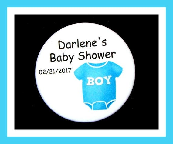 Baby Shower Onesie Favor,Personalized Button,Favor Tags,Its a girl,Its a Boy,Party Favor,Birthday Party Favors,Personalized Favors,Set of 10