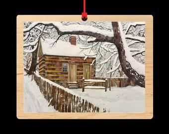 Cabin Fever || Christmas Ornament