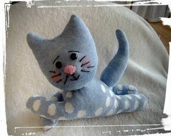 For a good cause! sweet stitched stuffed animal cat