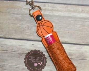 Lip Balm, Chapstick, Flash Drive, USB Drive Holder - Basketball