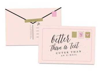 Better Than A Text Postcards