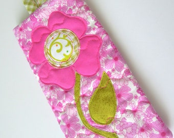 Floral Eyeglass Case