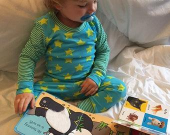 Baby Girl Boy Snug Fit Pajamas sewing pattern Pdf, Tshirt and Leggings, POWER Nap Toddler Pajamas, Baby Pajamas, newborn up to 10 years