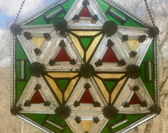 3D Stained Glass - Kaleidoscope Design