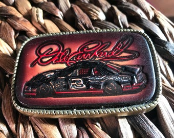 Vintage Dale Earnhardt Sr belt buckle